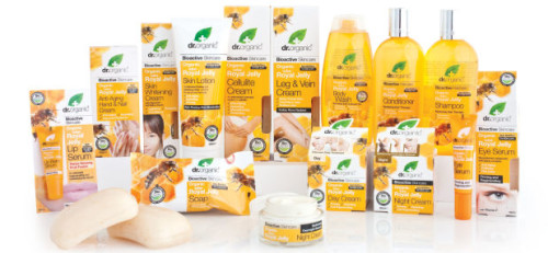 Dr. Organic Royal Jelly Range of Products