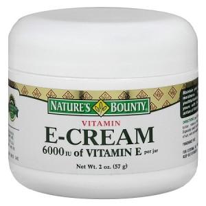 Vitamin E cream for pimple marks