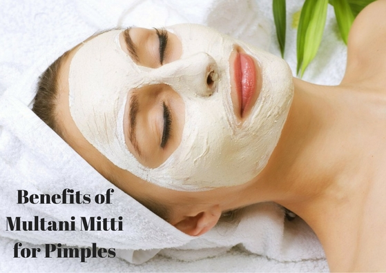 Benefits of Multani Mitti for Pimples