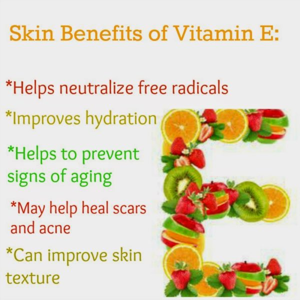 Benefits of Vitamin E for Skin