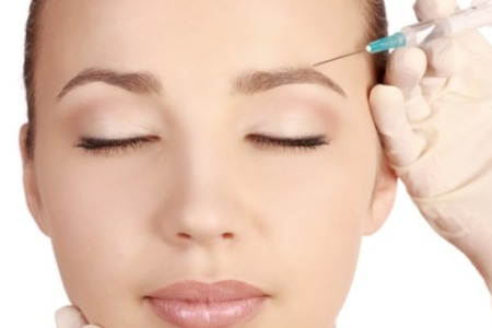 Fillers for forehead wrinkles