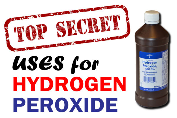 Benefits and uses of hydrogen peroxide for skin