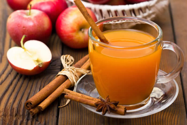 Drink apple cider vinegar for eczema