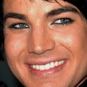 Adam Lambert's Lip Freckles