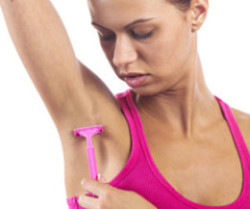 Frequent Shaving is one of the Causes of Dark Underarms