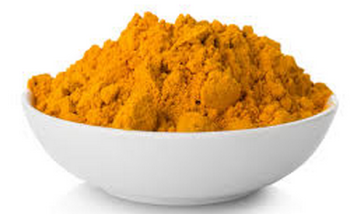 Turmeric powder or haldi for skin
