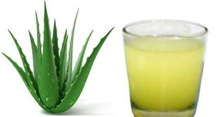 Drink Aloe Vera Juice to fade acne scars