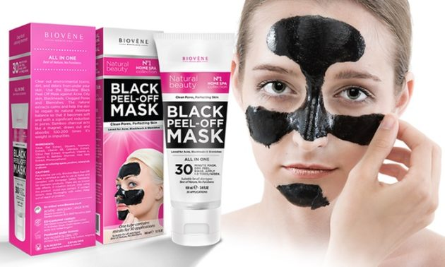 Activated Charcoal Peel of Mask