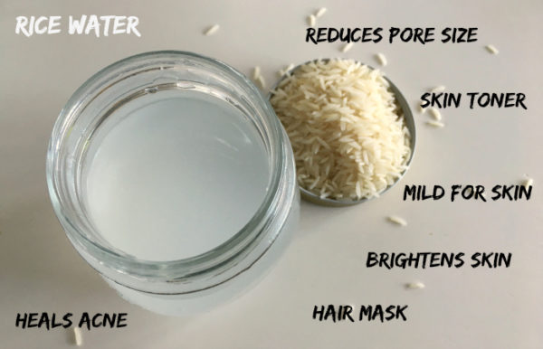 Rice Water for Skin
