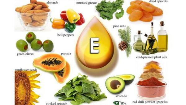 Sources of Vitamin E for Skin